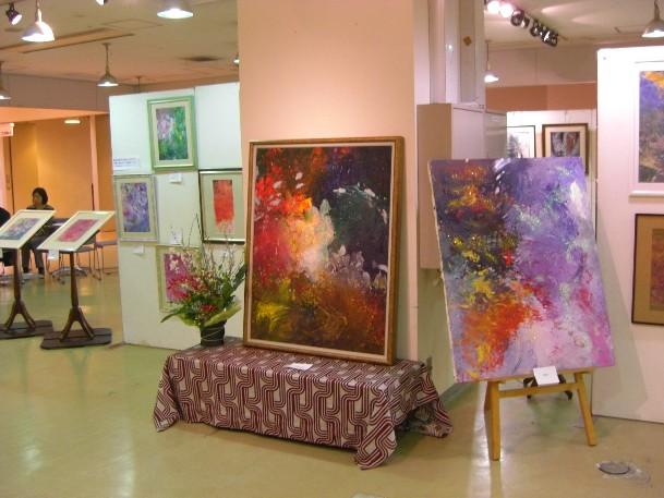 2010年サッポロファクトリー絵画展風景3.jpg